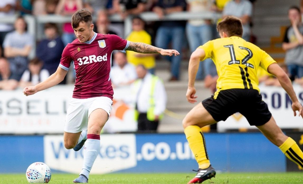 Mitch Clark Aston Villa