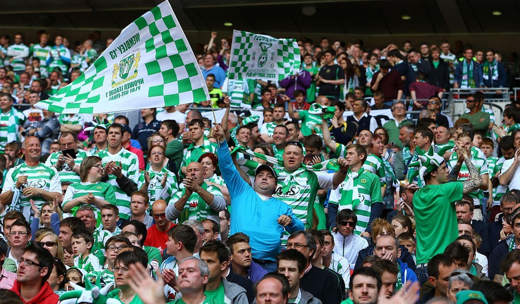 Yeovil Town Fans Aston Villa