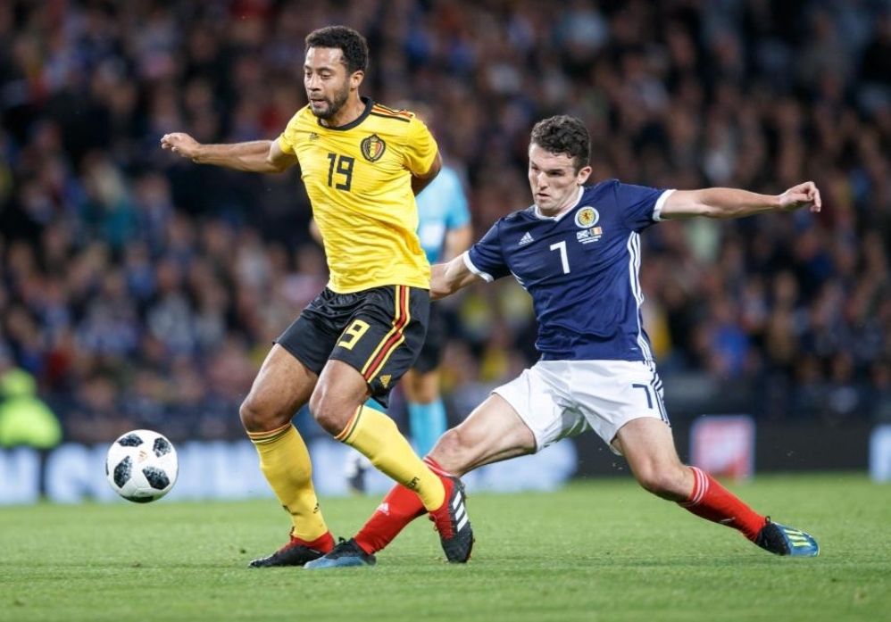 John McGinn Scotland Aston Villa