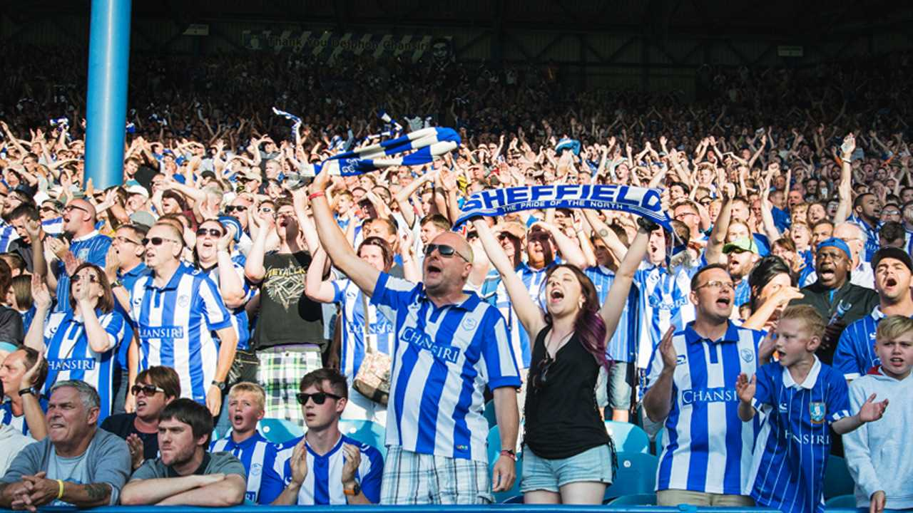 Sheffield Wednesday fans