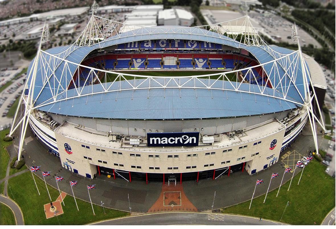 Bolton Macron Stadium Aston VIlla