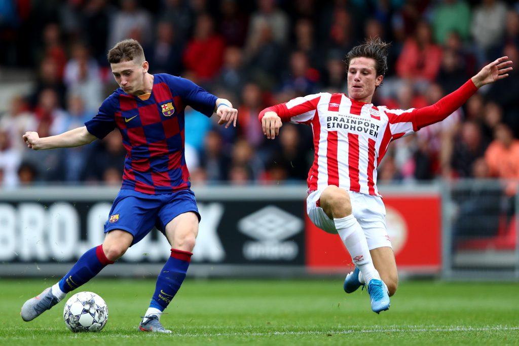 Aston Villa move for Barça 'wonderkid' Louie Barry is ...